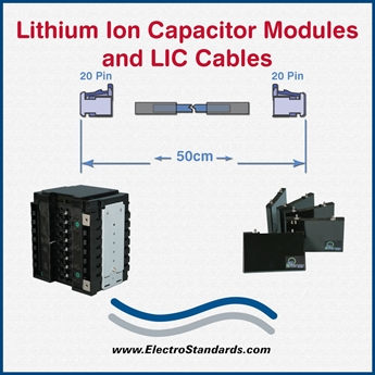 Lithium-Ion SuperCapacitor Cells, Modules, Cables & More
