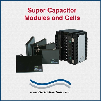 Super Capacitor Cells and Modules