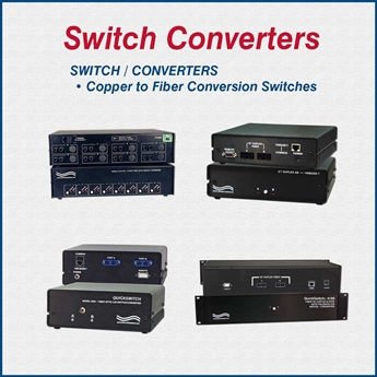 Switch/Fiber Converter in One Device