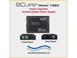 301023 - SCUPS® Model 1023 Super Capacitor 24VDC Uninterruptible Power Supply