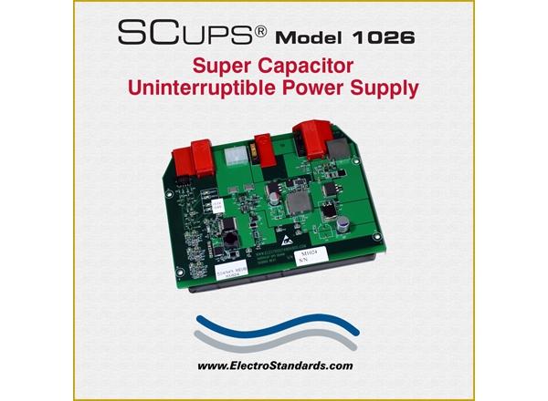 Super Capacitor Uniterruptible Power Supply, Board Unit, 12 VDC