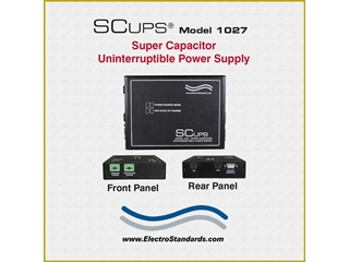 301027 - SCUPS® Model 1027 12VDC Super Capacitor Uninterruptible Power Supply