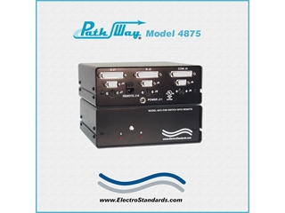 Catalog # 302154 - Model 4875 KVM A/B Switch