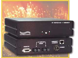 Catalog # 303173 - Model 4173 A/B Fiber Optic Switch/Converter