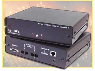 Catalog # 303185 - Model 4185 SC Duplex A/B Switch/Converter