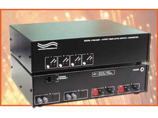 Catalog # 303189 - Model 4189 4-Way Fiber Switch/Converter