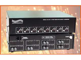 Catalog # 303191 - Model 4191 6-Way Fiber Switch / Converter