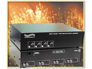 Catalog # 303289 - Model 4289 4-Way Fiber Switch/Converter