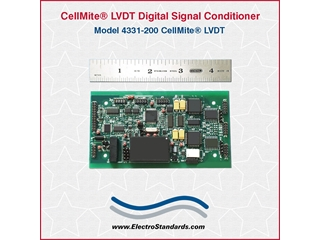 303332 - 4331-200 CellMite LVDT AC Excitation Dual-Channel Digital Signal Conditioner Board