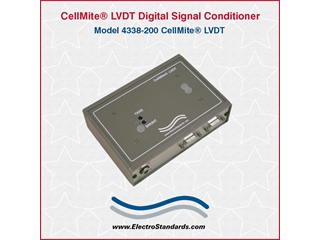 303338 - 4338-200 CellMite LVDT AC Excitation Dual-Channel Digital Signal Conditioner