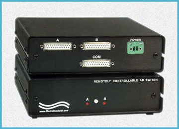 Remotely Controllable DB25 A/B Switch
