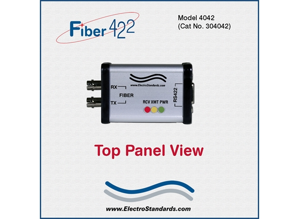 ST Fiber to RS422 Interface Converter
