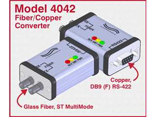 304042 - 4042 High Speed ST Fiber to RS422 Interface Converter
