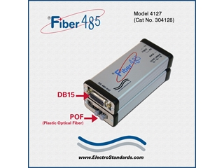 304128 - 4127 HP Fiber to RS485 Interface Converter