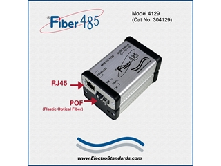 304129 - 4129 HP Fiber to RS485 Converter