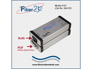 304137 - 4137 HP Fiber to RS232 Converter