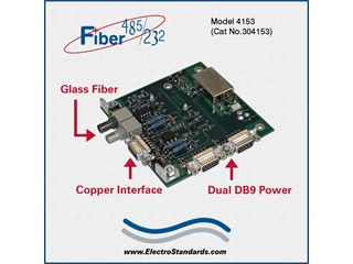 304153 - 4153  Very High Speed Fiber to Multi-Point RS485/422/232