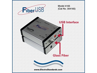 304165 - 4165 High Speed Rugged ST Fiber-to-USB Converter
