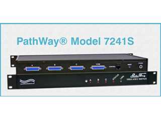 Catalog # 304241S - Model 7241S DB25 A/B/C Switch, Secure Setup
