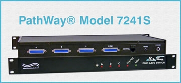S DB25 A/B/C Switch, Secure Setup