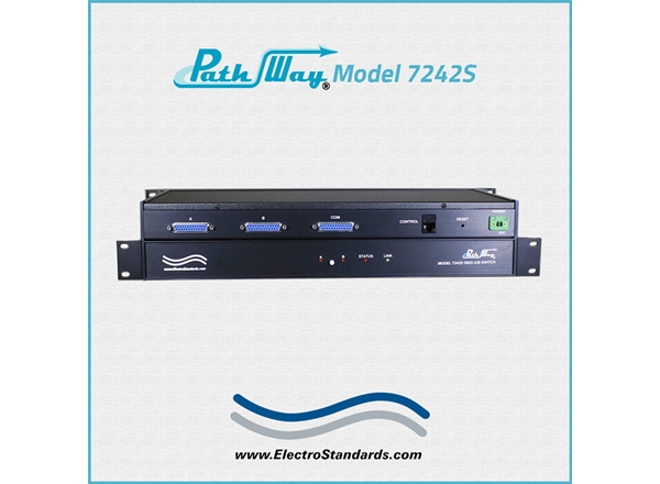 Model 7242S DB25 A/B Switch, Secure Setup