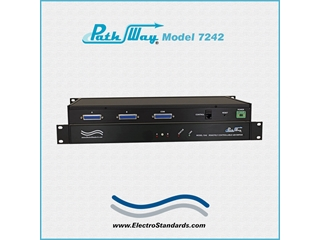 Catalog # 304242 - Model 7242 DB25 A/B Switch, Rackmount
