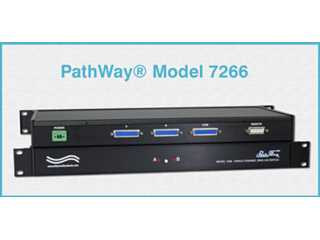 Catalog # 304266 - Model 7266 DB25 RS232/RS530 AB Switch