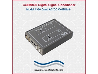 304336 - 4336 CellMite Quad AC/DC Mixed LVDT and Force Digital Signal Conditioner