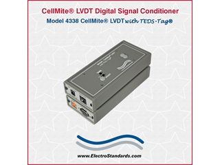 304338 - 4338 CellMite LVDT AC Excitation Single Channel Digital Signal Conditioner