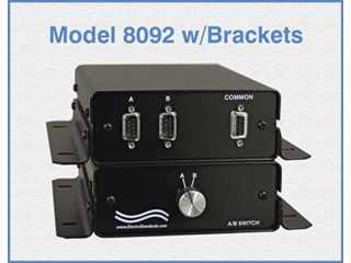 304380 Model 8092 DB9 2-Position Switch, MMF Connectors & Mounting Brackets