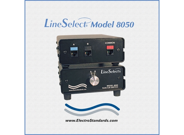 LineSelect® Model 8050 RJ45 A/B Switch