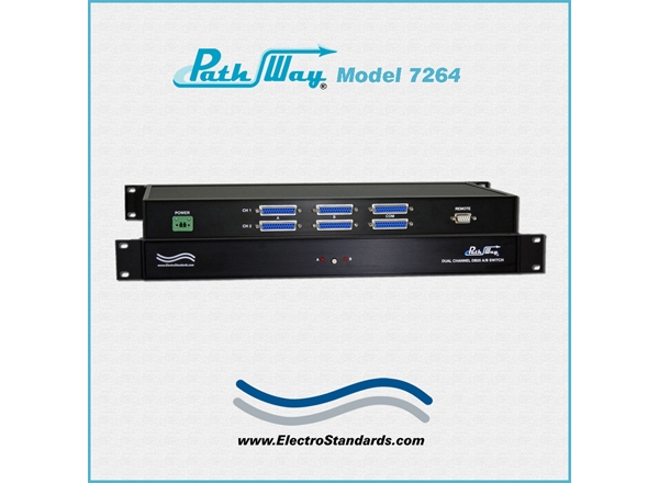 2-Channel DB25 RS232/RS530 A/B Switch