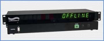A SVCN/GPCN/OFFLINE Display for 5528A