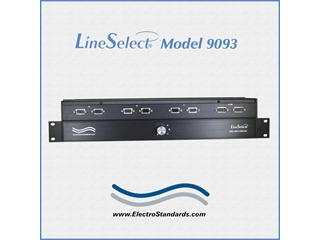 305673 - Model 9093 2-Channel DB9, 3-Position Switch