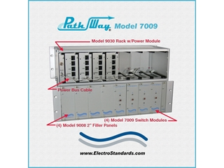 Catalog # 305945 - Model 9030 Switch Rack, Power Supply, Cabling