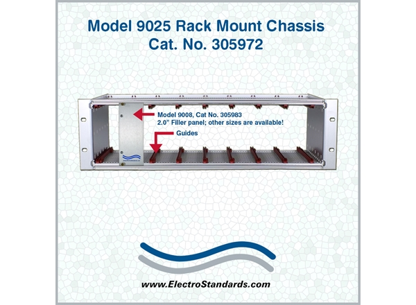 Model 9025 Rackmount Chassis for Switch Modules