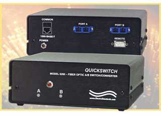 Catalog # 306185 - Model 6285 Gigabit A/B Fiber Switch / Converter
