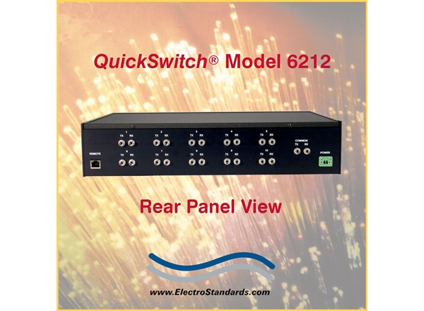 10-Position Fiber Optic Switch