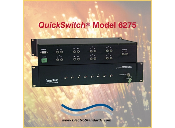 8-Position Fiber Switch with Offline Position