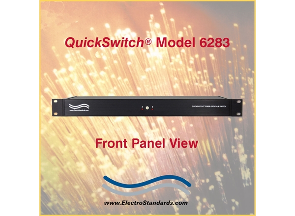 LC Duplex Gigabit A/B Fiber Switch