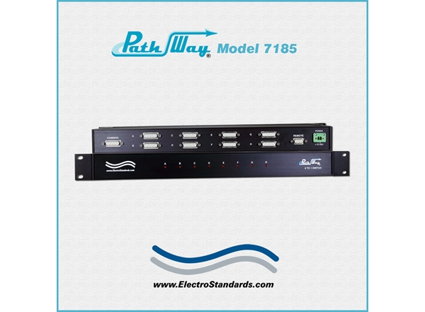 Catalog # 307185 - Model 7185 DB15 8-to-1 Network Switch