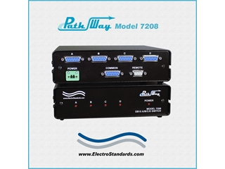 Catalog # 307208 - Model 7208 DB15 A/B/C/D Network Switch