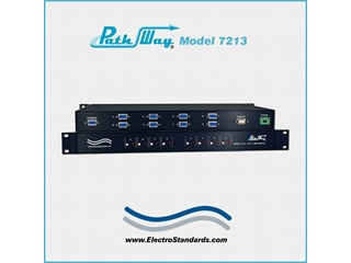 Catalog # 307213 - Model 7213  8-to-1 DB9 Switch