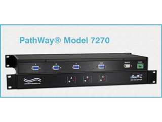 Catalog # 307270 - Model 7270 DB9 A/B/C Switch