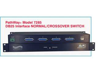 Catalog # 307285 - Model 7285 DB25 Crossover Network Switch