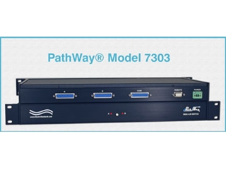 Catalog # 307303 - Model 7303 DB25/X.21 BIS Interface A/B Switch, Rackmount