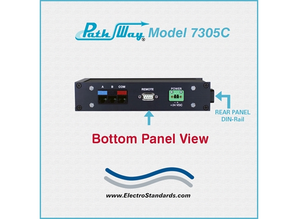 Catalog # 307305C - Model 7305C RJ45 Cat5e A/B Switch, Exclusive Remote Control, RoHS & CE Compliant