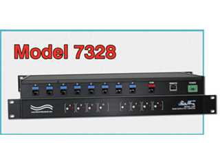 Catalog # 307328 - Model 7328 8-to1 RJ45 CAT5 Network Switch