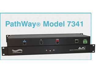Catalog # 307341 - Model 7341 RJ45 CAT5e A/B Switch, GUI