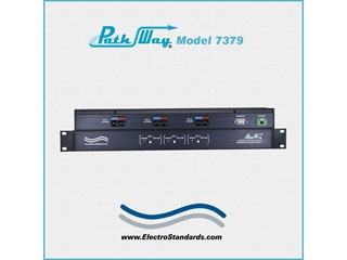 307379 - Model 7379 Tri-Channel RJ45 Cat6, POE Online/Offline Switch